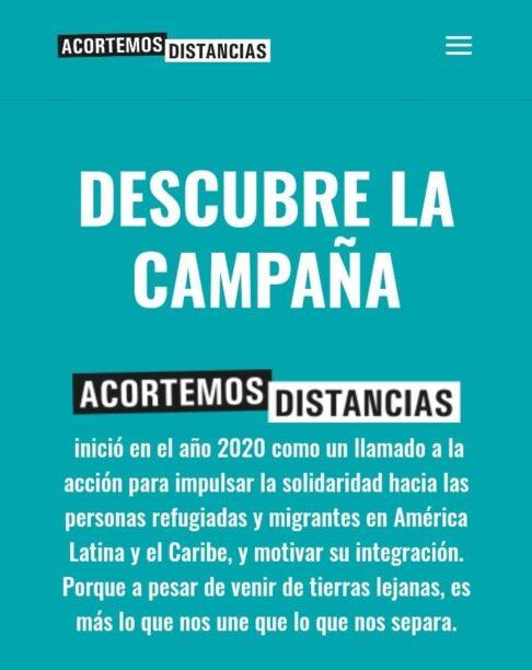 #DistintaMente, una campaña para combatir la Xenofobia.
